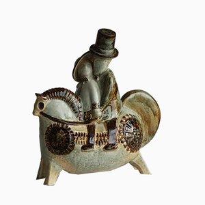 Pferdeskulptur von Joseph Simon für Søholm, 1960er