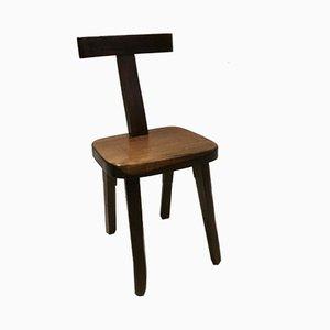 Mid-Century Model T Dining Chair by Olavi Hänninen for Mikko Nupponen