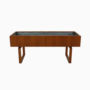 Scandinavian Modern Teak Planter by Kai Kristiansen for Salin Mobler, 1960s