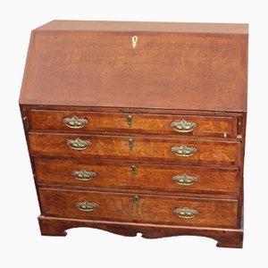 Large Antique Oak Desk, 1850s