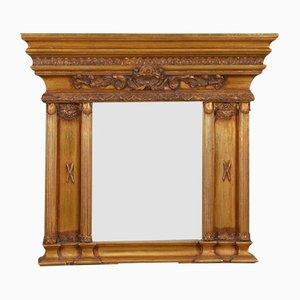 Antique Fireplace Mirror