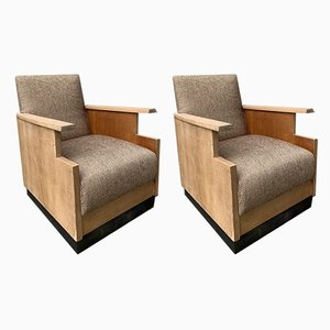 Lounge Chairs, 1920s, Set of 2