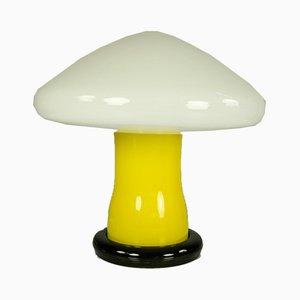 Glass Table Lamp by Karin Korn for VEB Beleuchtungsglaskombinat Görlitz , 1960s