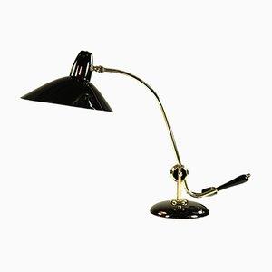 Vintage Tischlampe aus Messing von HALA - Hannoversche Lampenfabrik, 1940er
