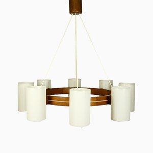 Large Swedish Chandelier by Uno & Östen Kristiansson for Luxus, 1960s