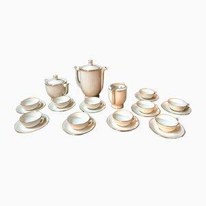 Art Deco Porcelain Coffee Set, 1960s
