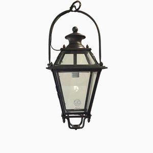 Lanterna vintage in bronzo di Tagliafico, anni '40