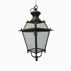Lanterne Vintage en Bronze de Tagliafico, années 40