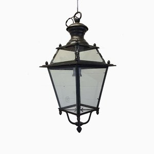 Vintage Bronze Lantern from Tagliafico, 1940s
