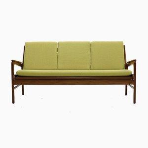 Sofá de teca de De Ster Gelderland, años 60