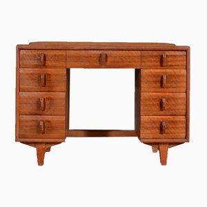 Schreibtisch aus Nussholz von Heal's, 1960er