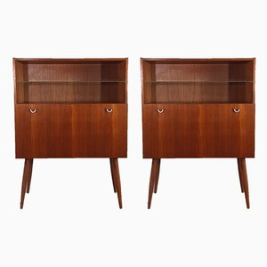 Mid-Century Danish Teak Dressers from AEJM Møbelfabrik, 1960s, Set of 2