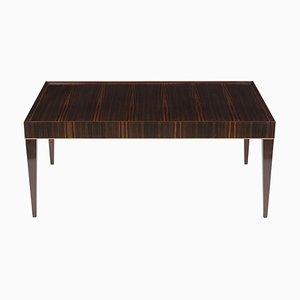 Table Basse Mid-Century Moderne en Macassar, années 70