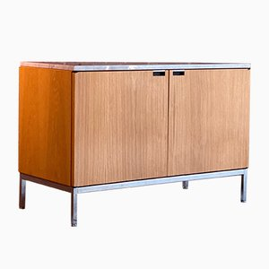 Marble Credenza by Florence Knoll Bassett for Knoll Inc./Knoll International, 1970s