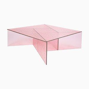 Rosafarbener großer Aspa Beistelltisch von MUT Design