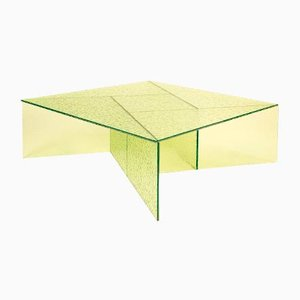 Yellow Aspa Side Table by MUT Design