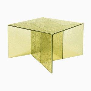 Gelber mittelgroßer Aspa Beistelltisch von MUT Design
