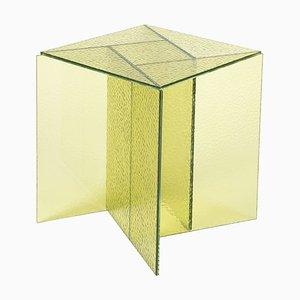 Petite Table Basse Aspa Jaune par MUT Design