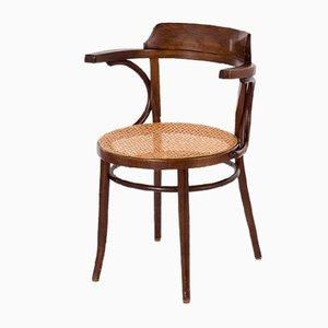 Vintage Modell 233 Café Stuhl aus gebogener Buche von Michael Thonet, 1950er
