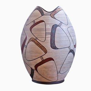 Jarrón de cerámica de SAWA, años 50