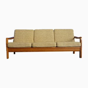 Sofá de teca de Juul Kristensen, años 60