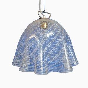 Lampada in vetro di Murano di J. T. Kalmar per Kalmar, anni '60