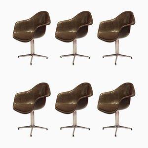 Esszimmerstühle aus Glasfaser von Charles & Ray Eames für Vitra, 1970er, 6er Set