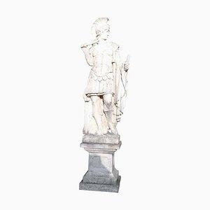 Estatua de jardín neoclásica de piedra, años 30