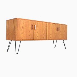 Dänisches Sideboard aus Teak von Victor Wilkins für G-Plan, 1970er