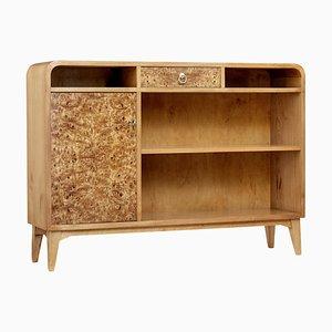 Burr Elm Cabinet, 1950s