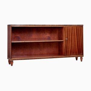 Scandinavian Mahogany Bookcase, 1950s