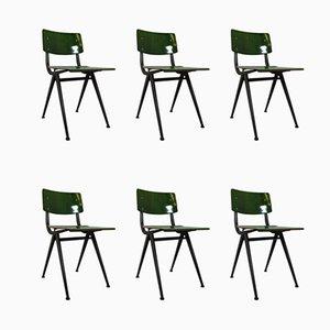 Industrielle Esszimmerstühle von Marko Holland, 1960er, 6er Set