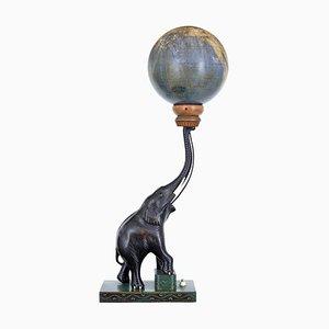 Art Deco Celestial Globe Light by Edwin Hammar, 1940s