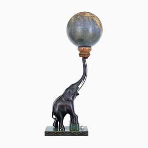 Lampe Globe Céleste Art Déco par Edwin Hammar, 1940s