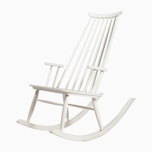 Rocking Chair Mid-Century par Varjosen Puunjalostus pour Uusikylä