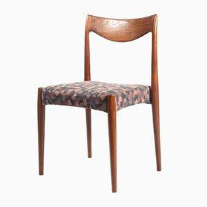 Chaise de Bureau Vintage en Teck