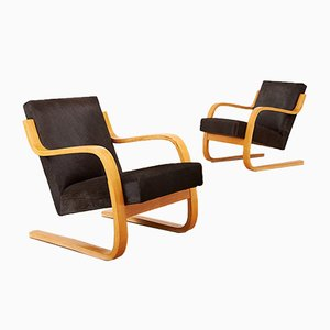 Lounge Chairs by Alvar Aalto for Artek, 1930s, Set of 2