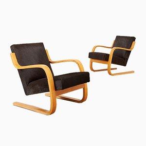 Poltrone di Alvar Aalto per Artek, anni '30, set di 2