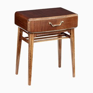 Mahogany Nightstand by Axel Larsson for Bodafors, 1950s