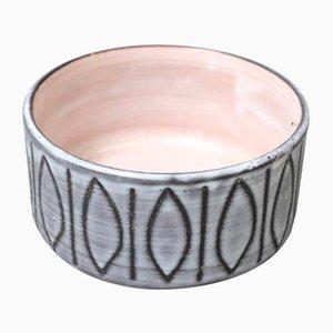 Plato Mid-Century de cerámica de Jacques Pouchain, años 60