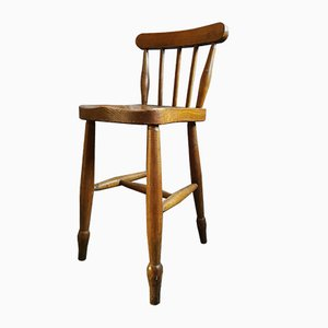 Antique Victorian Windsor Childrens Chair, 1900s