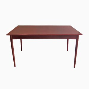 Extendable Rosewood Veneer and Mahogany Dining Table, 1960s