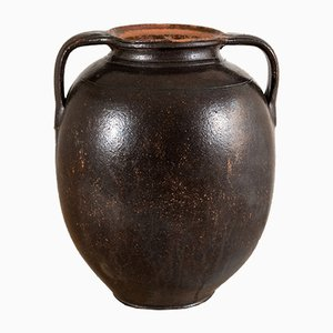 Antique Glazed Amphora Vase