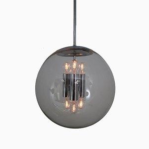 Lámpara colgante de Glashütte Limburg, años 70