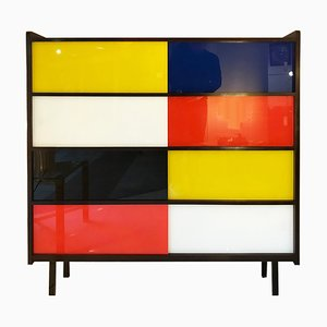 Mid-Century Model Oscar Cabinet by Didier Rozaffy, 1960s