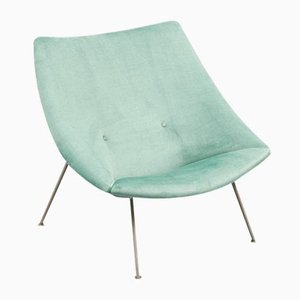 Mid-Century Oyster Lounge Chair by Pierre Paulin for Artifort