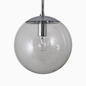 German Glass Pendant Lamp by Glashütte Limburg for Glashütte Limburg, 1970s