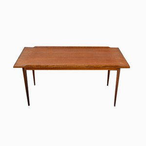 Scandinavian Teak Coffee Table, 1950s
