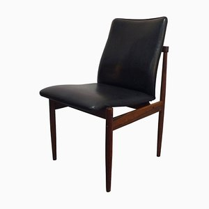 Mid-Century Rosewood Dining Chair from Fristho