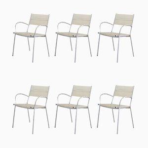 Chaises de Salle à Manger Modèle Miss B par Tito Agnoli pour Pierantonio Bonacina, 1990s, Set de 6